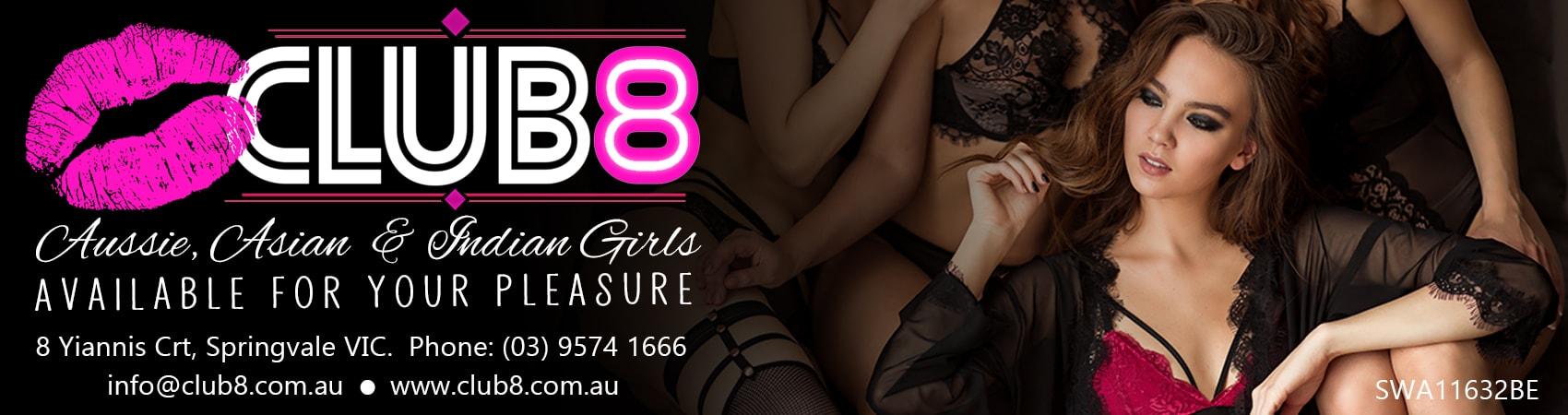Club 8 Ad Melbourne